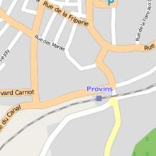 Champbenoist Centre Ville Provins Distance
