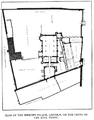 Plan of Bishop's Palace, Lincoln, 1848.png