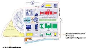 Jaume I University - Image: Plano 1