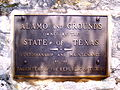 Plaque at the Alamo, San Antonio, Texas, June 4, 2007.JPG