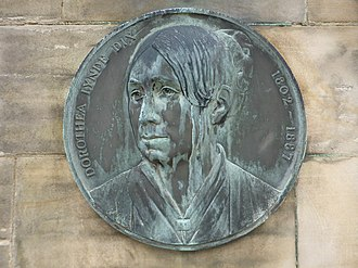 Dorothea Dix - Plaque to Dorothea Lynde Dix at the Royal Edinburgh Hospital