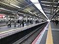 Platform of Tennoji Station (Hanwa Line) 5.jpg