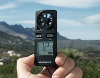 Что измеряет анемометр единицы измерения
