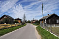 Podlaskie Brzoski Falki village road.jpg