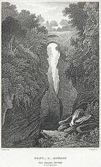 Pont-Y-Monach (Die Satans-Brucke) in Cardiganshire