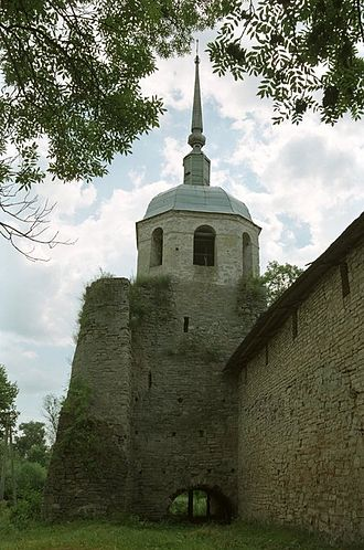 Porkhov - One of the fortress' towers