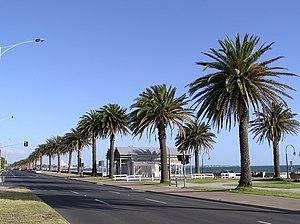 Albert Park, Victoria - Albert Park foreshore, near Beaconsfield Parade