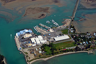 Motueka - Talley's Seafood Division at Port Motueka