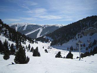 Port del Comte (ski resort) - Image: Port del Comte Estivella