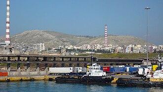 Drapetsona - Port of Drapetsona