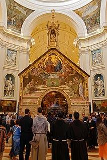Portiuncula Catholic chapel near Assisi