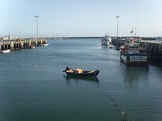 Economy of Póvoa de Varzim - Fishing vessels in the Port of Póvoa de Varzim.