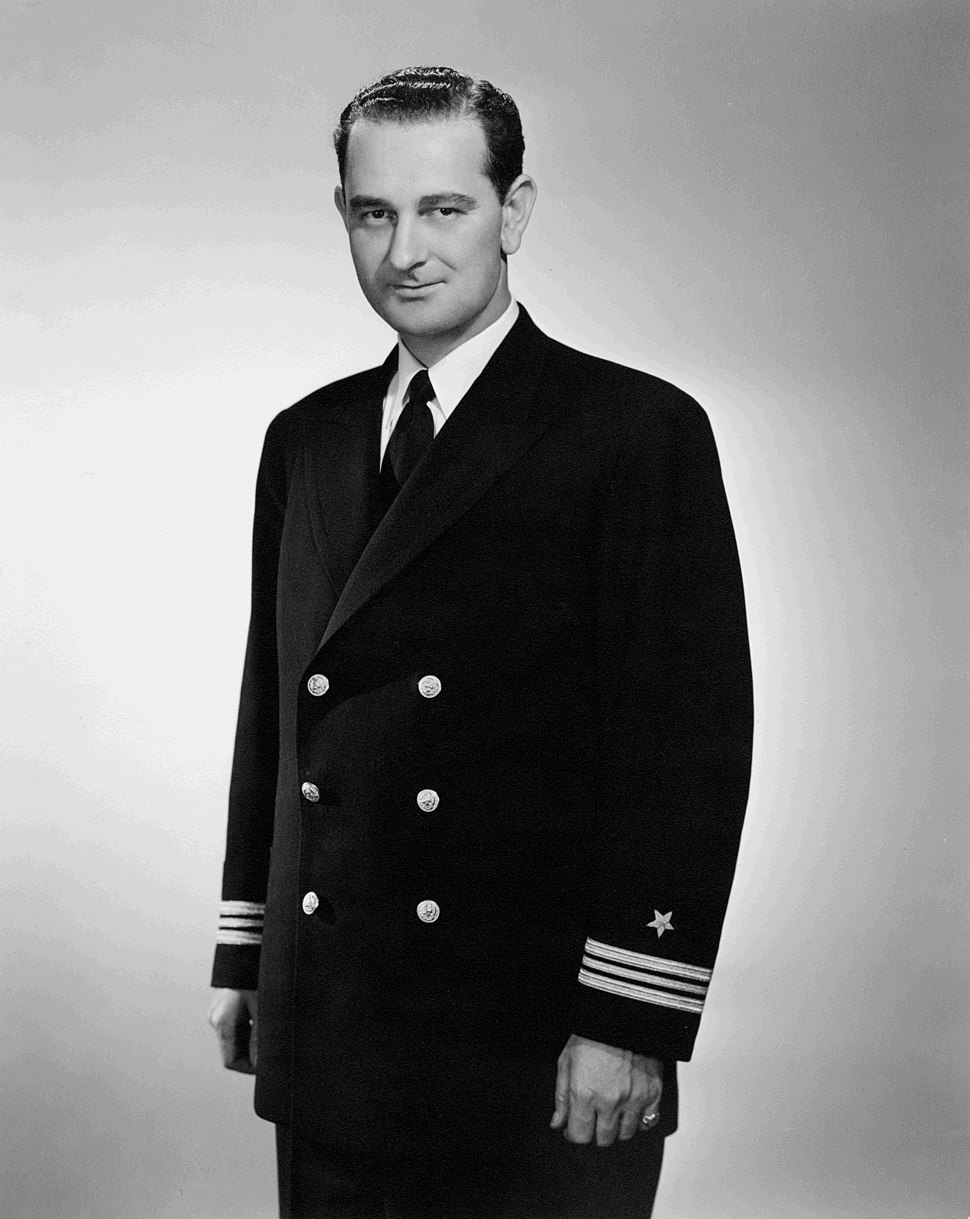 Portrait of Lyndon B. Johnson in Navy Uniform - 42-3-7 - 03-1942