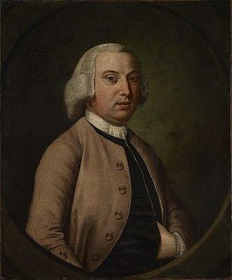 Pontrobert - Portrait of Sampson Lloyd II (1699 - 1779), a founder of Lloyds Bank