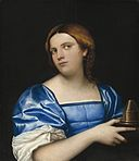 Portrait of a Young Woman as a Wise Virgin A29712.jpg