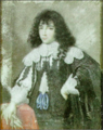 Portrait of a young gentleman holding gloves and leaning on a table.png