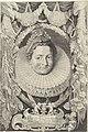 Portret van Isabella Clara Eugenia, infante van Spanje Ferdinandus IIus et IIIus Imperatorum Domus Austriacae (serietitel), RP-P-OB-60.693.jpg