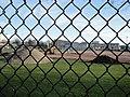Portsmouth United Services Recreation Ground astroturf being laid.JPG