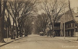 Lakehurst, New Jersey - Union Avenue, about 1910