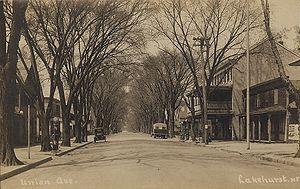 Lakehurst, New Jersey - Union Avenue, about 1910