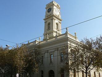City of Stonnington - Prahran Town Hall now houses a library and council offices