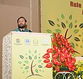 Prakash Javadekar addressing at the Valedictory session of the International Conference on Rule of Law for Supporting 2030 Development Agenda, in New Delhi.jpg