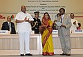 Pratibha Devisingh Patil presenting the INSEE Lifetime Achievement award to Dr. C. Prasad at the International Conference on Innovative Approaches for Agricultural Knowledge Management.jpg