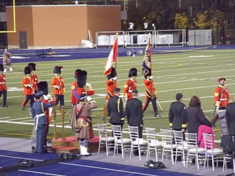 The Royal Regiment of Canada - Presentation of Colours March Past