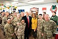 President Trump the First Lady Visit Troops in Iraq (46502782661).jpg