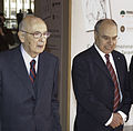 Presidente Giorgio Napolitano e Prof. Attilio Celant - 01.jpg