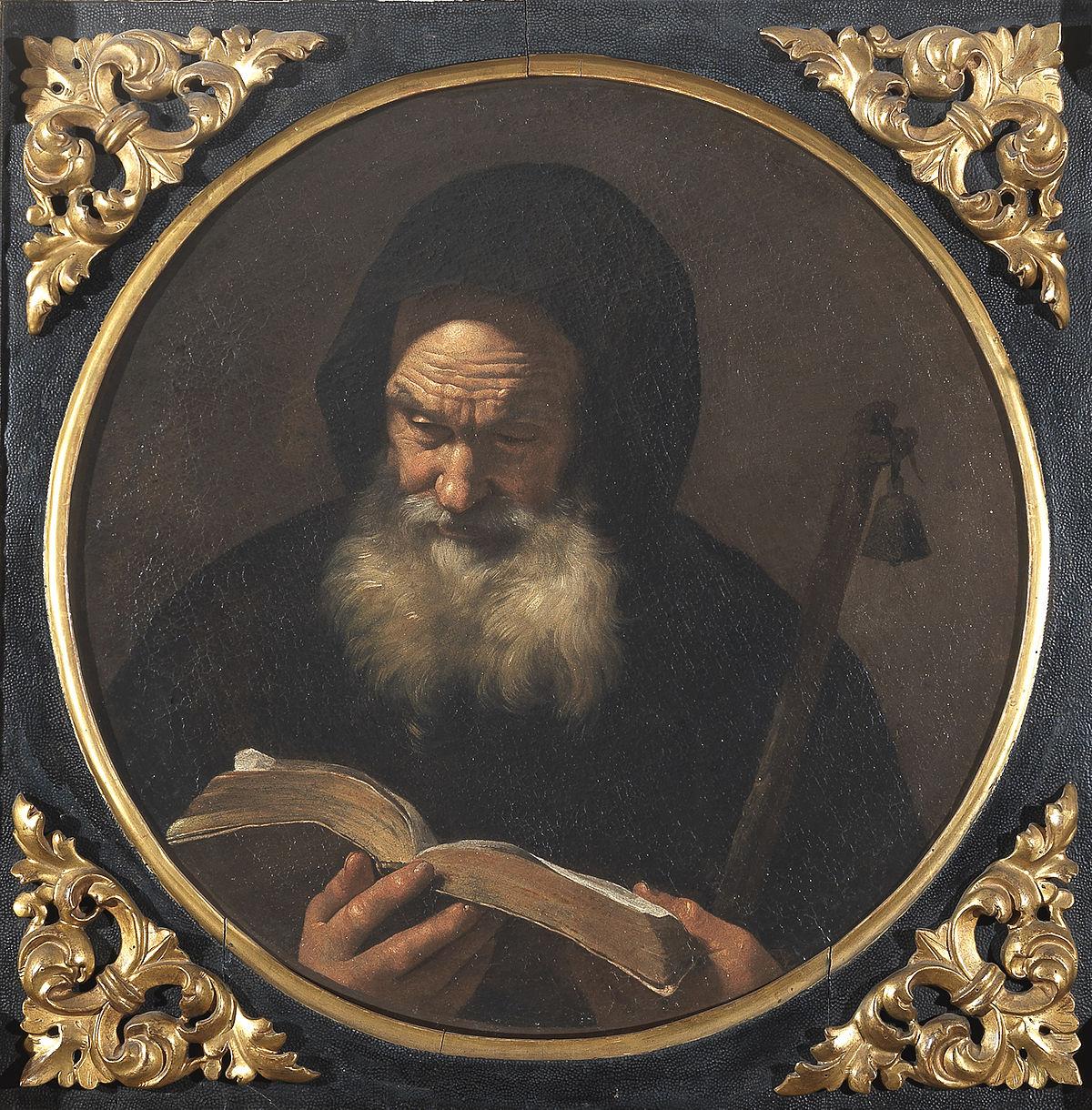 Sant 39 antonio abate mattia preti wikipedia for Arredo bimbo sant antonio abate