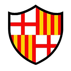 e3ab23003001b1 Colours and badge[edit]. Barcelona's original crest.