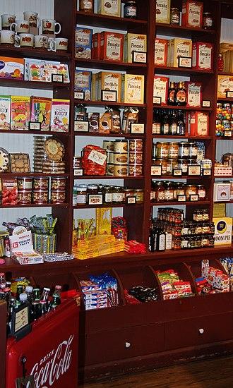 Cracker Barrel - A Cracker Barrel gift shop