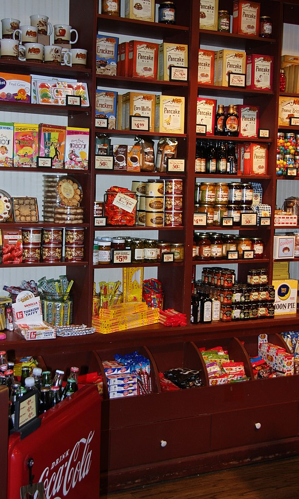 File Products For Sale In A Cracker Barrel Gift Shop