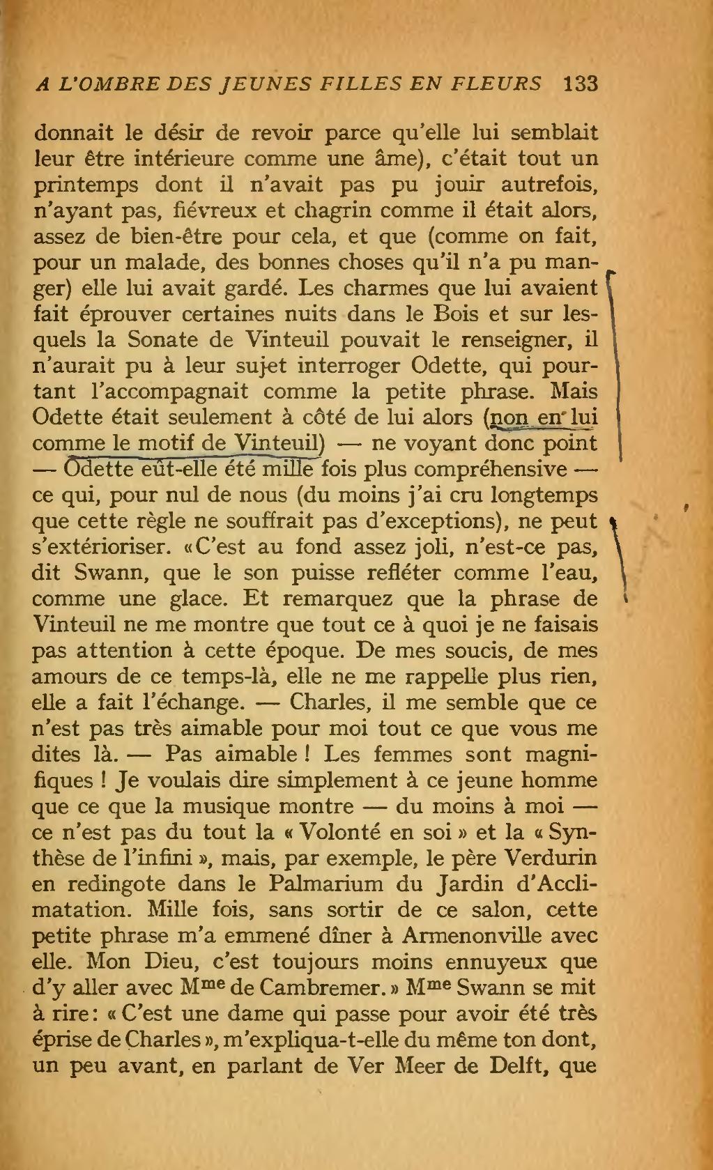 60% de réduction bas prix large choix de designs Page:Proust - À la recherche du temps perdu édition 1919 ...