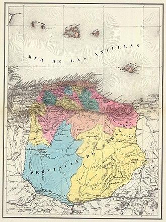 Venezuela Province - Image: Provincia Caracas