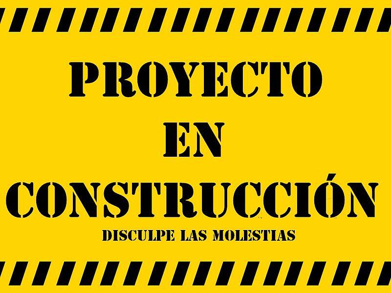 Archivo:Proyecto en construccion.jpg - Wikipedia, la enciclopedia ...