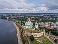 Pskov asv07-2018 Kremlin aerial1.jpg