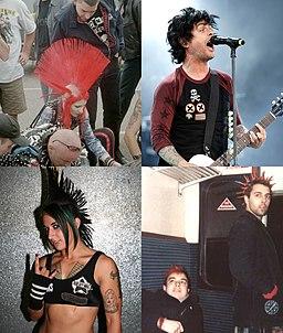 Punk Fashion collage