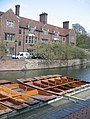 Punts and Magdalene College - geograph.org.uk - 795457.jpg