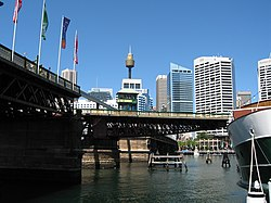 Pyrmont Bridge, Sydney.