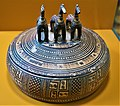 Pyxis with a Lid of Three Horses - Museum of the Ancient Agora - Joy of Museum.jpg