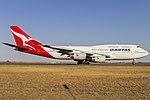 Qantas (VH-OJU) Boeing 747-438(ER) at Avalon Airport (4).jpg