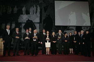 Quadriga (award) - Recipients and laudators at Quadriga 2007