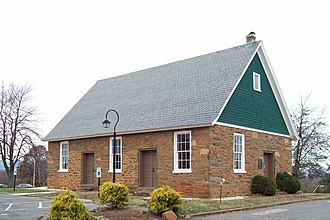 Campbell County, Virginia - South River Friends Quaker Meeting House