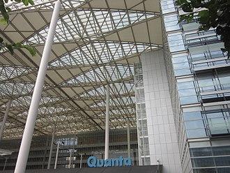 Quanta Computer - Quanta Computer Building Gate in Hwa Ya Technology Park