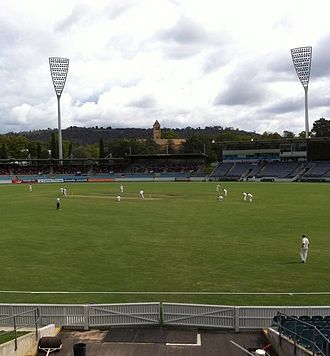 Manuka Oval - Image: Queanbeyan v Wests 1st grade two day Grand Final Manuka March 2014