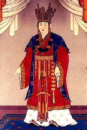 Queen Seondeok of Silla - Image: Queen Seondeok of Silla 01