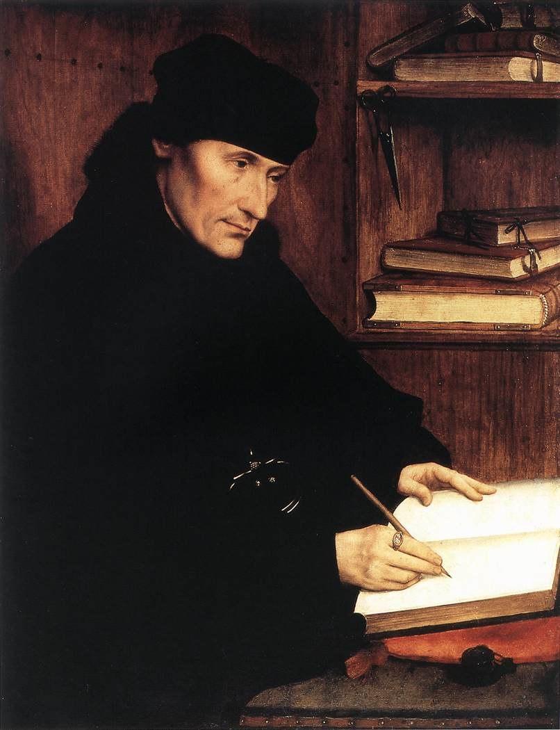 Quentin Massys- Erasmus of Rotterdam