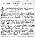 Répartition des médecins dans les hôpitaux de l'Assistance publique pour l'année 1907 - Le Journal, 24 décembre 1906.jpg
